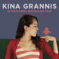 Kina Grannis announces 2nd Sydney show on Sun 25 March to meet demand!